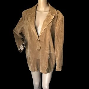Mossimo Suede Leather Jacket Plus Size 22W